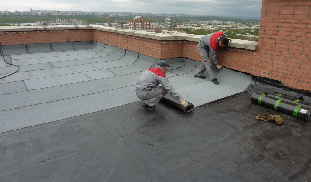 Repair of adjacent soft roofs