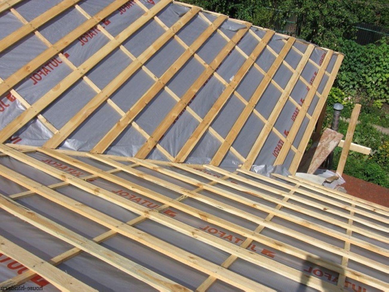 Как правильно сделать крышу под профнастил 865